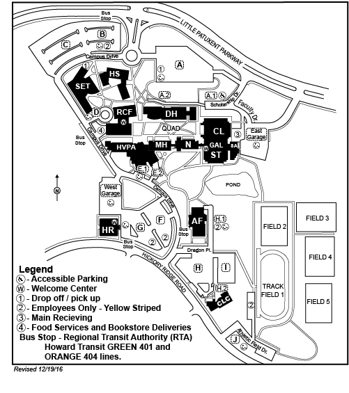 HCC Parking Map 2017
